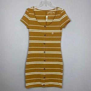 Aeropostale seriously soft stripped dress Sz med